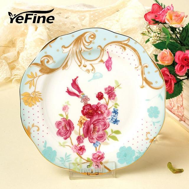 YeFine Ceramics Eco-Friendly Simple Design Ceramic Pastry Plate Dessert Plates Porcelain Fruit Dishes Home  sc 1 st  AliExpress.com & YeFine Ceramics Eco Friendly Simple Design Ceramic Pastry Plate ...