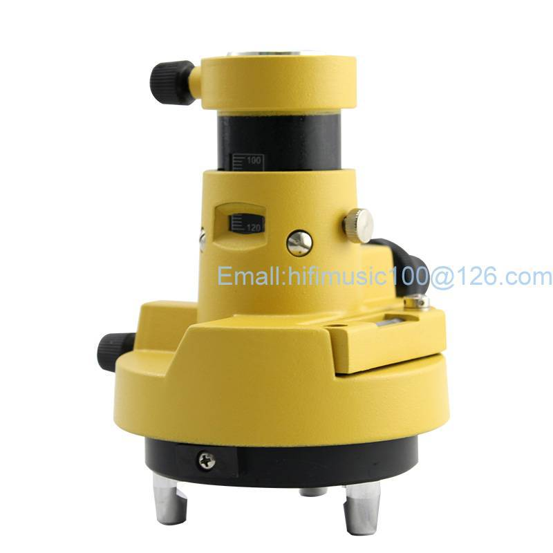 ФОТО NEW Gray Three JAW Tribrach Adapter W Optical Plummet FOR Topcon Sokkia Prisms