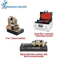 Newest TBK 808 Automatic Bubble Removing Machine OCA Vacuum Laminating Machine 5 in1 Frame Separator machine