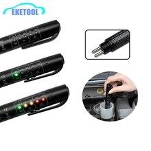 Original MINI Tester Auto Brems Flüssigkeit Tester Für Dot3/DOT4 Batterie Flüssigkeit Digitale Prüfung 5LED Anzeige Feuchtigkeit Wasser Kompakte