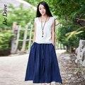 De Dove 2016 new summer women's literature and art loose linen cotton  women's sleeveless vest and tank tops
