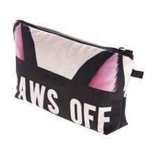 Cats Animals Women Cosmetic Bag