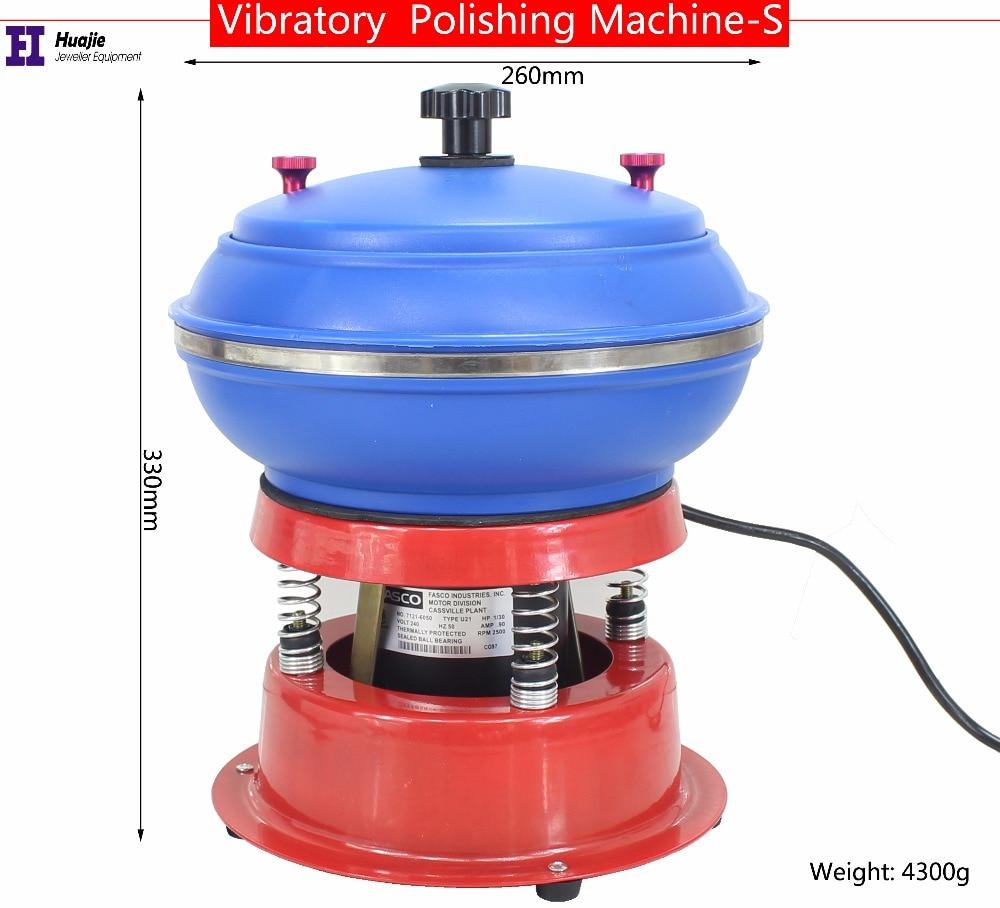 Jewelry Vibrating Tumbler Tumbling Polishing Machine  For Metal Jewelry Polisher Grinder Jewelry Machine