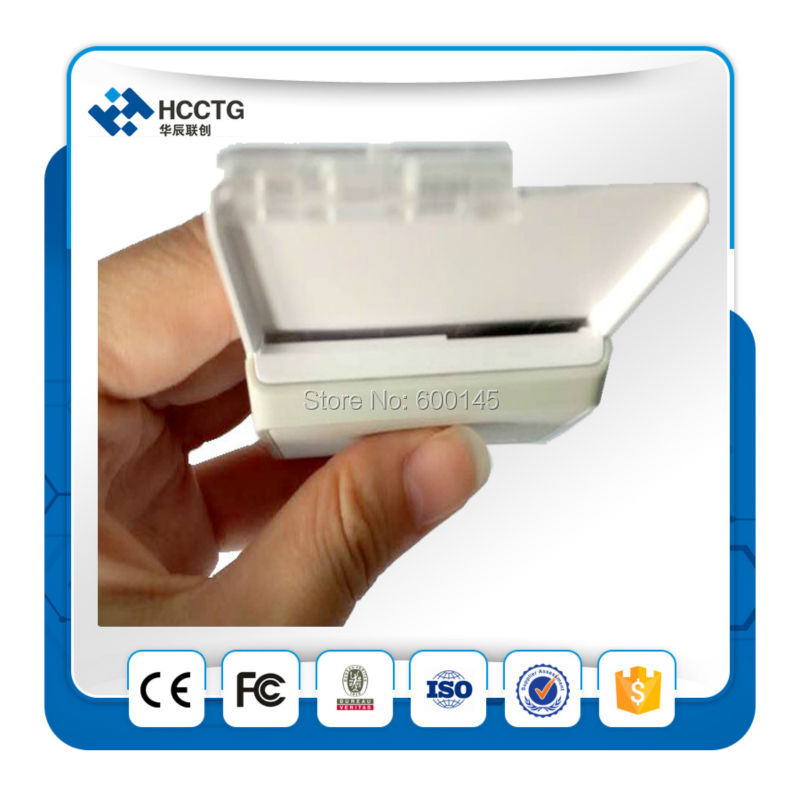 FREE SHIPPING ISO 7816 Contact Both USB&Bluetooth Smart Card Reader With rechargeable battery --ACR3901 free shipping iso