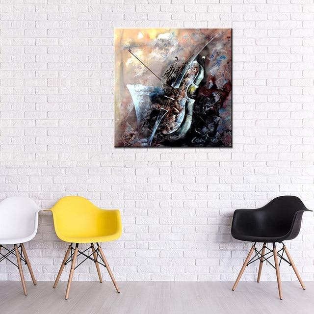 Online-Shop Noah Abstrakt Handgemalte Gemälde Musikinstrumente ...