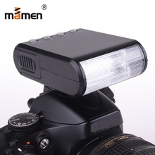 цена на MAMEN Camera Flash Light Mini Speedlite Studio Speedlight For Canon Nikon Sony DSLR Flash Portable Universal