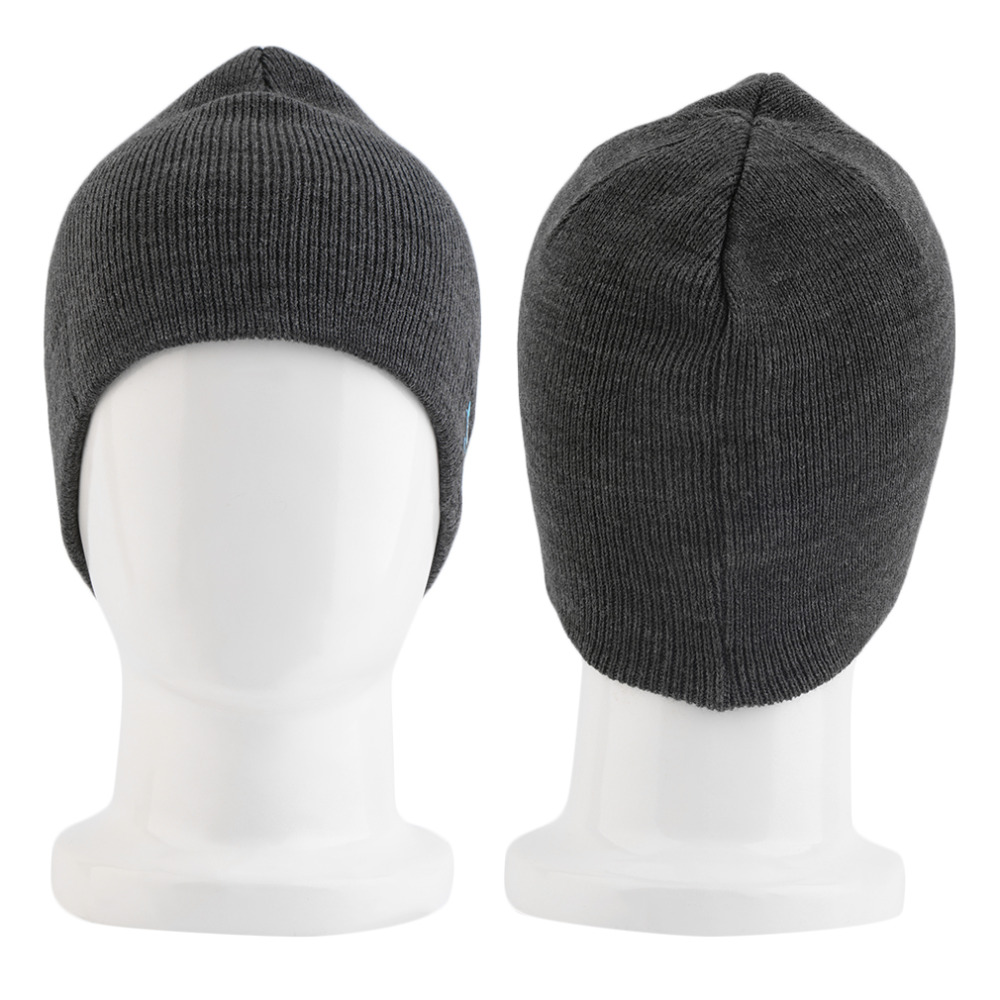 Wireless Bluetooth Hat Winter Warm Beanies With V3 0 EDR Bluetooth Music Hat Skullies Unisex Cool Knitted Cap in Bluetooth Earphones Headphones from Consumer Electronics