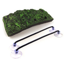 PU Foam Aquarium Float Decoration Bask Crawler Sun Roof Terrace Climb Brazilian Tortoise Turtle Platform Toy Floating Island(China)