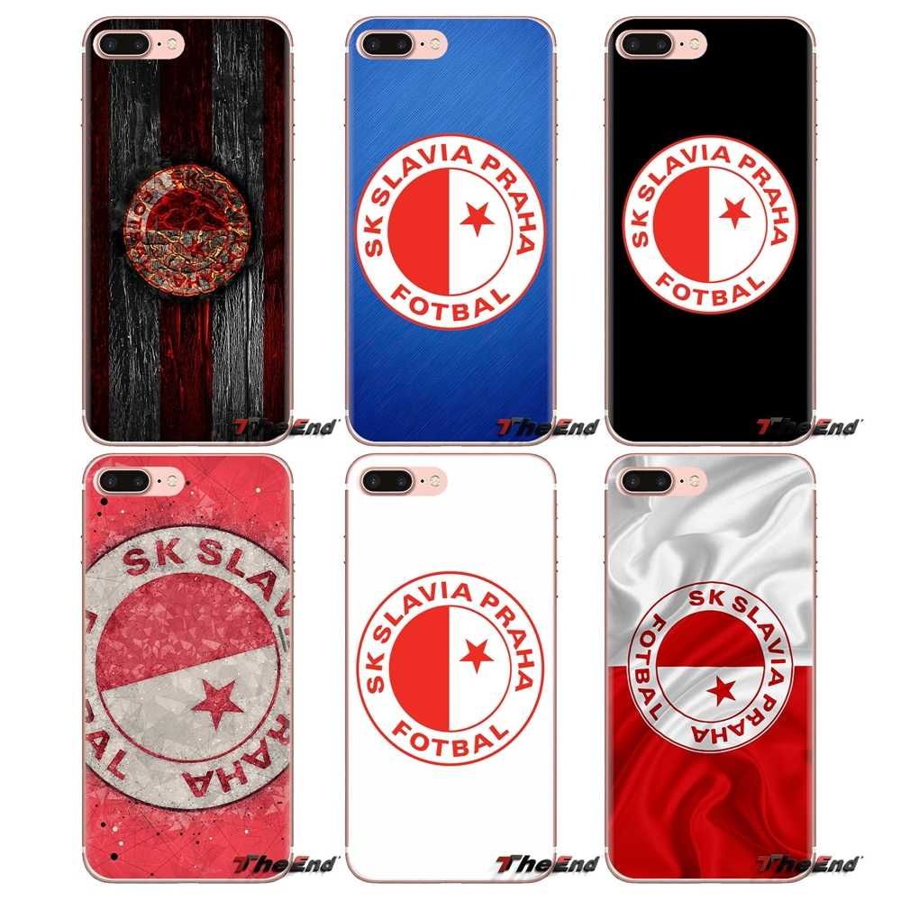 For Xiaomi Mi4 Mi5 Mi5S Mi6 Mi A1 A2 5X 6X 8 9 Lite SE Pro Mi Max Mix 2 3 2S Sk Slavia Praha Sports TPU Transparent Shell Covers