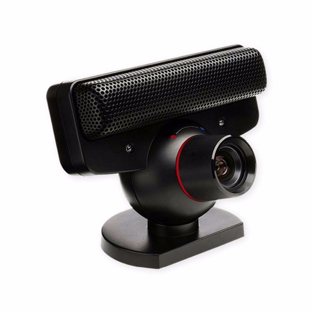 US $11 8 29% OFF|USB Move Motion Eye Camera for Play Station 3 Zoom Lens  Gaming Motion Sensor Cam with Microphone for PS3 Games Move System-in