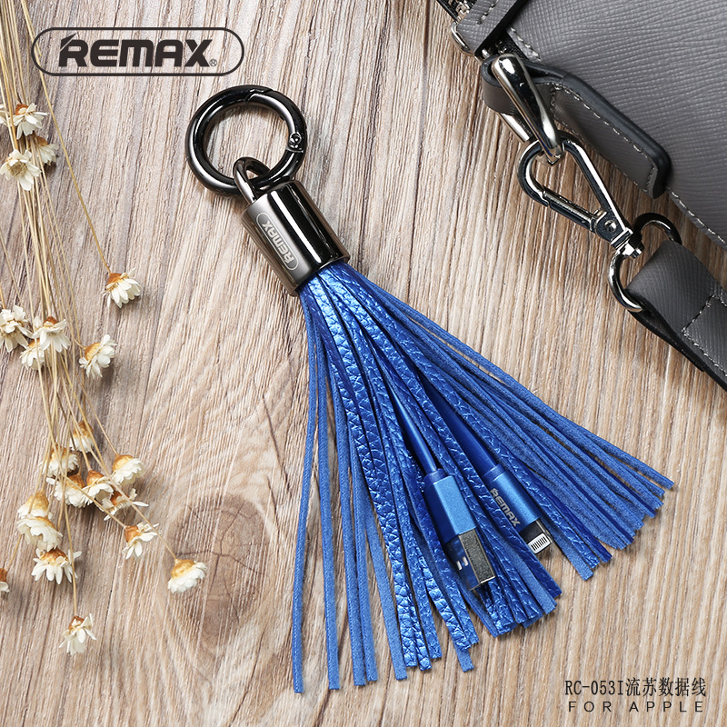 Tassels Hanging Drop Phone USB Cable For Phones Pendant Multi-Color Tassels Key Chain Bag Backpack Hanging Drop Keychain