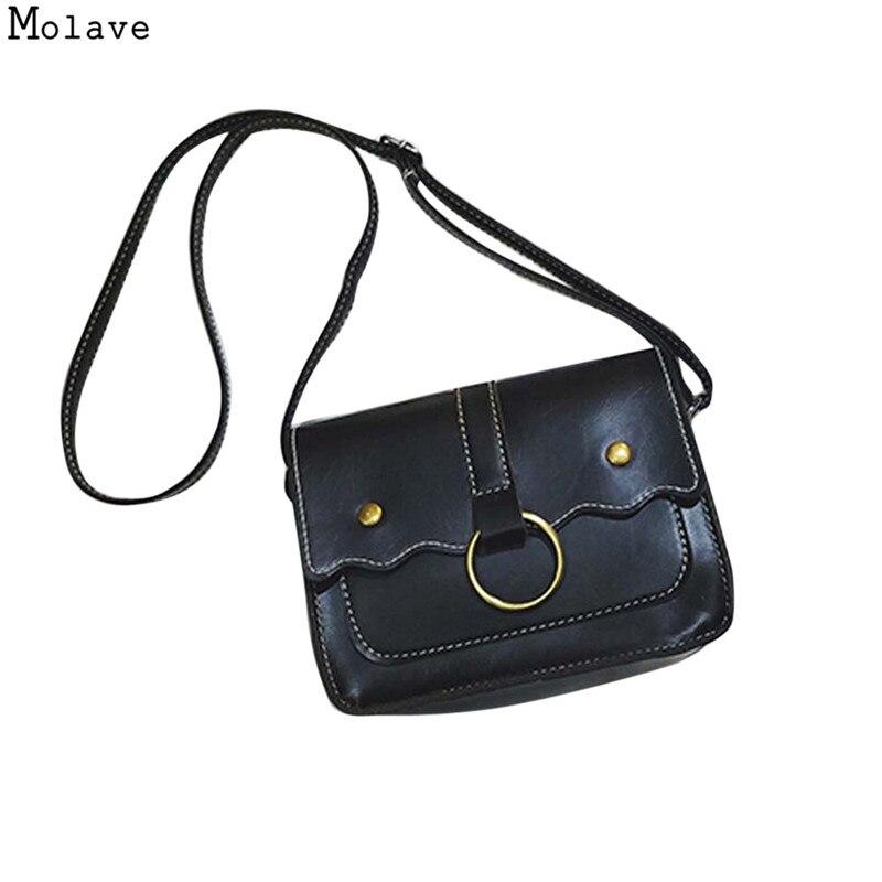 Vintage Fashion Women PU Leather Handbag Crossbody Shoulder Bags Messenger bags Handbag Cross body bags Satchel Ladies Bags se12