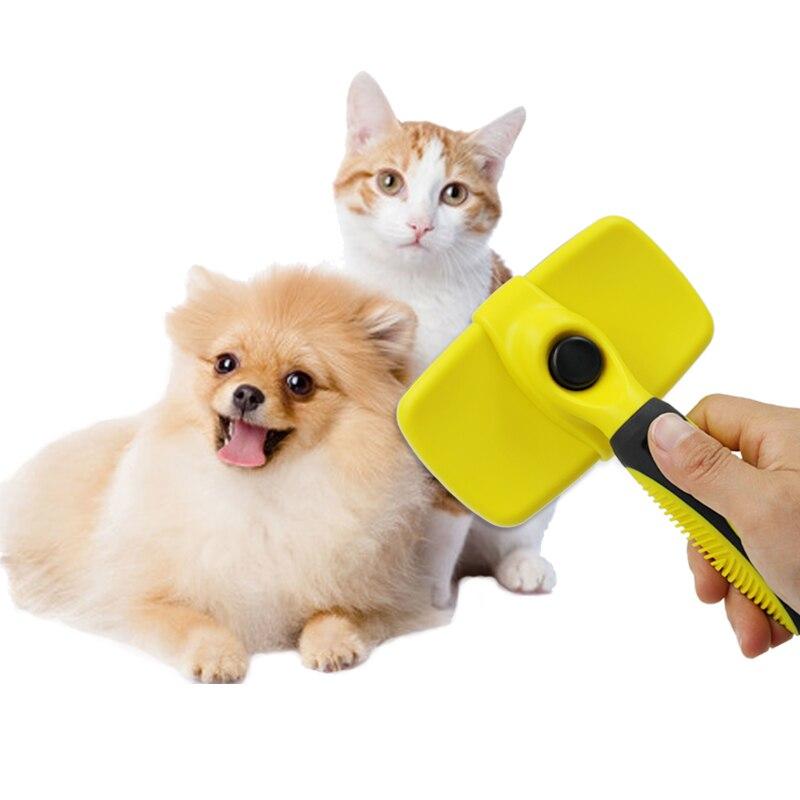 Pet Köpekler Için Hayvan Tımar Deshedding Furmins Tarak Fırça Pet Köpek Kedi Hayvanlar Gelen Tüylerinizi için Tarak Fırça 30