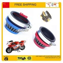 37cc 49cc Pocket bike air filter 58mm mini moto atv quad free shipping
