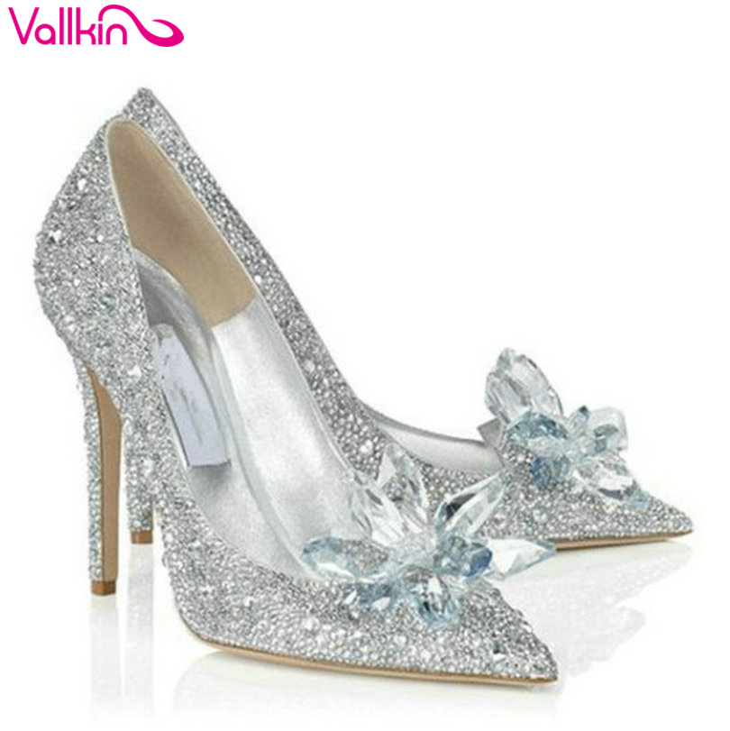Online Get Cheap Glass Slipper Wedding Shoes Alibaba Group