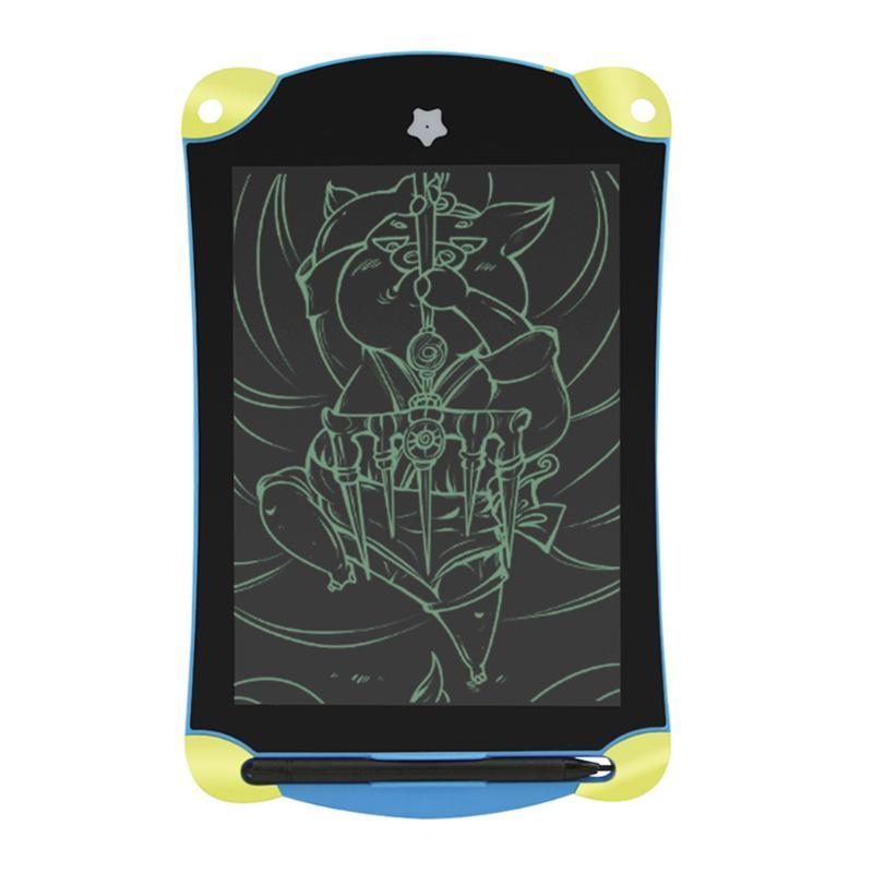 8.5 дюйма Магнит Игрушки для рисования ЖК-дисплей записи Планшеты стереть рисунок Планше ...