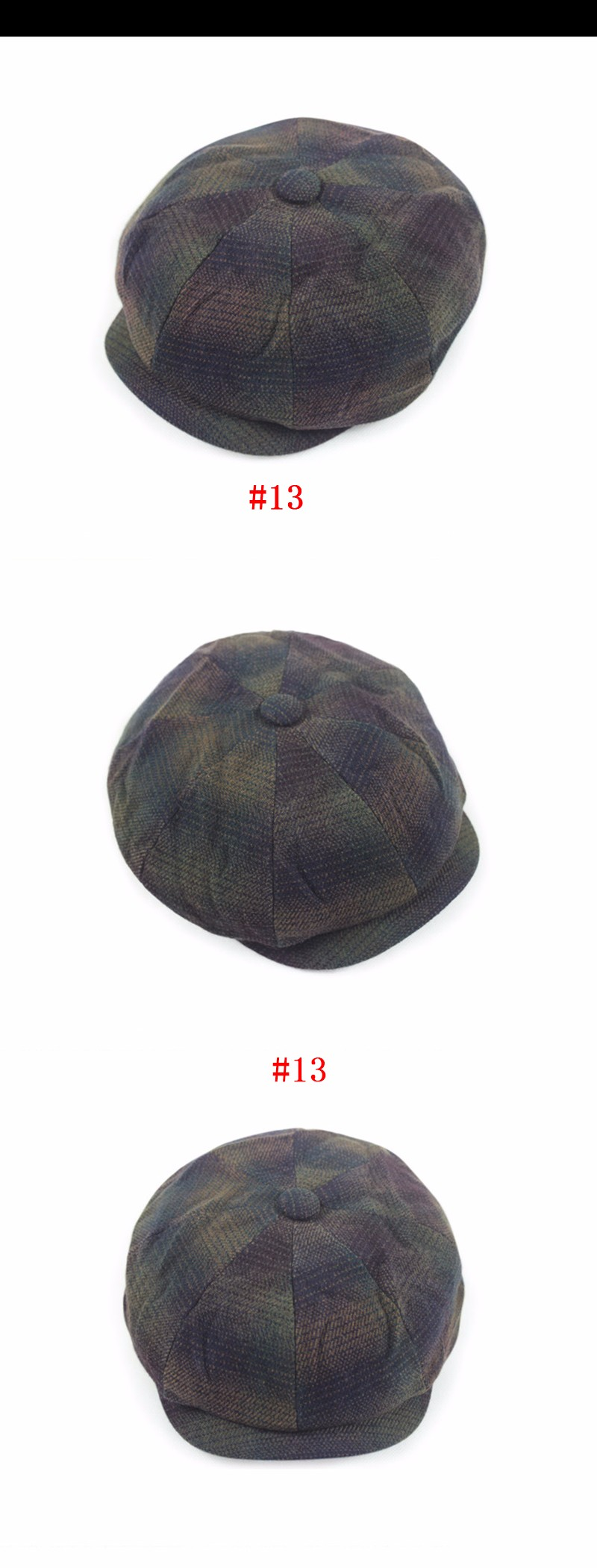 Compre David Beckham Fashion Gentleman Octagonal Cap Newsboy ... 4db2a28eea2
