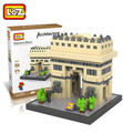 Isla de pascua estatua loz diamond bloques de construcción de la famosa modelo de juguete de regalo juguetes de los niños educativos del patrimonio cultural