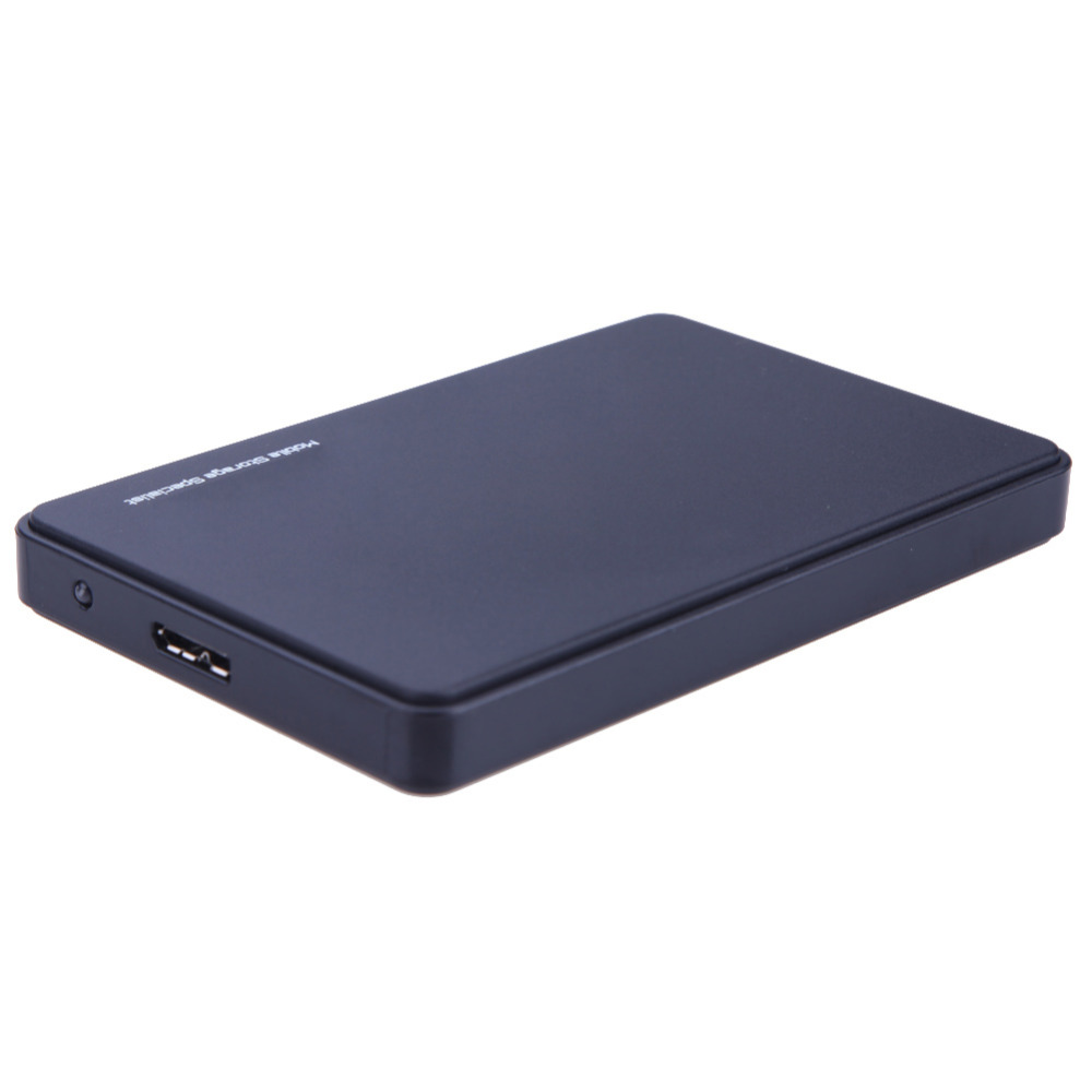 2TB HDD Case USB 3.0 to SATA HDD Box Hard Drive External Enclosure Black Case without Screws Hard Disk x for PC high speed usb 2 0 hard disk drive enclosure case for 2 5 sata hdd blue max 2tb