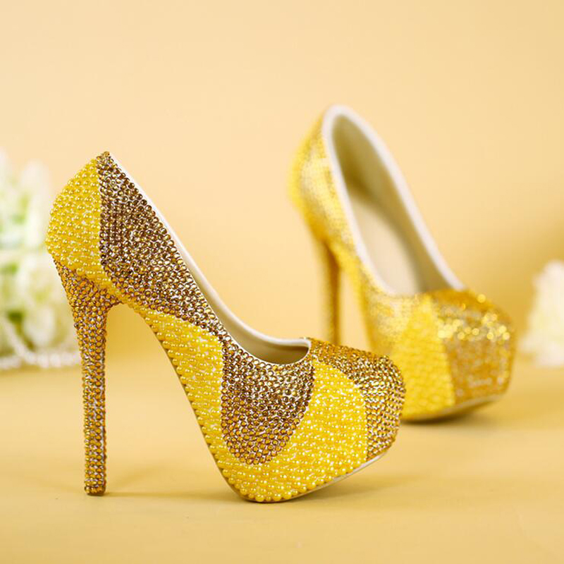 Popular Yellow Gold Heels-Buy Cheap Yellow Gold Heels lots from ...