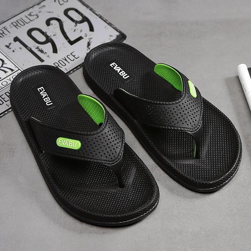 100% QualitäT Sommer Männer Flip-flops Hohe Qualität Strand Sandalen Anti-slip Zapatos Hombre Casual Schuhe Drop Pp Hausschuhe