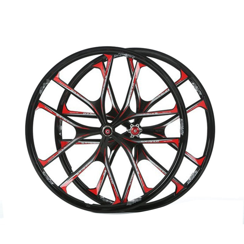 bike  magnesium alloy wheels 26 27.5 inches Mountain Bicycle Wheel rims parts bike MTB hot lightweight  free shipping free shipping gub 26er mountain bike hub bicycle wheel 4palin bicicleta ultraleve vara de pode ser removido rapidamente