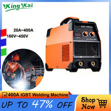 цена на Super 400A IGBT Inverter Portable Arc Welder Equipment Electric Welding Machine ZX7-250 315 400