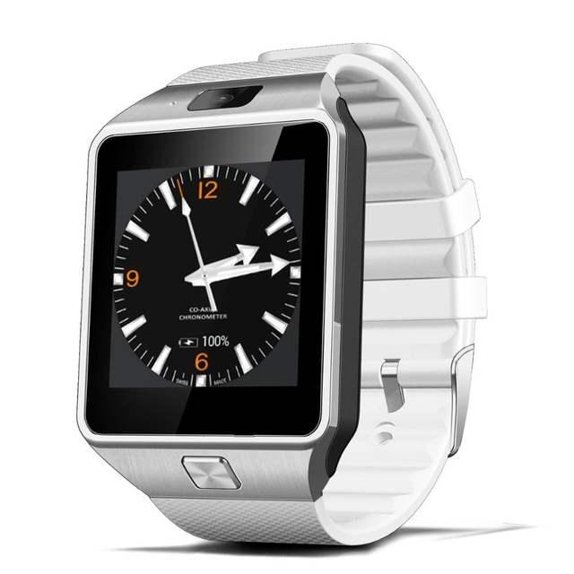 63721335a97 RsFow QW09 Smartwatch DZ09 relógio Inteligente Android Bluetooth  Atualização do telefone Móvel Wifi Suporte 3G SIM