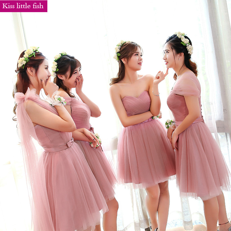83eba7198b608 Buy dark pink bridesmaids dresses and get free shipping on AliExpress.com