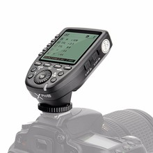 Godox Xpro-N TTL Wireless Flash Trigger for Canon Nikon 1/8000s HSS TTL-Convert-Manual Function Large Screen Slanted Design цены онлайн