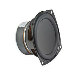 Image 2 - AIYIMA 1Pcs 3.5 Inch Full Range Speaker HIFI  8 O hm 20W Bass Speaker Driver Audio Loudspeaker For Car Modification DIY