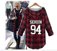 2018 new Kpop exo exobiology hoodie large yards lovers k pop sweatshirt hood EXO with clothes