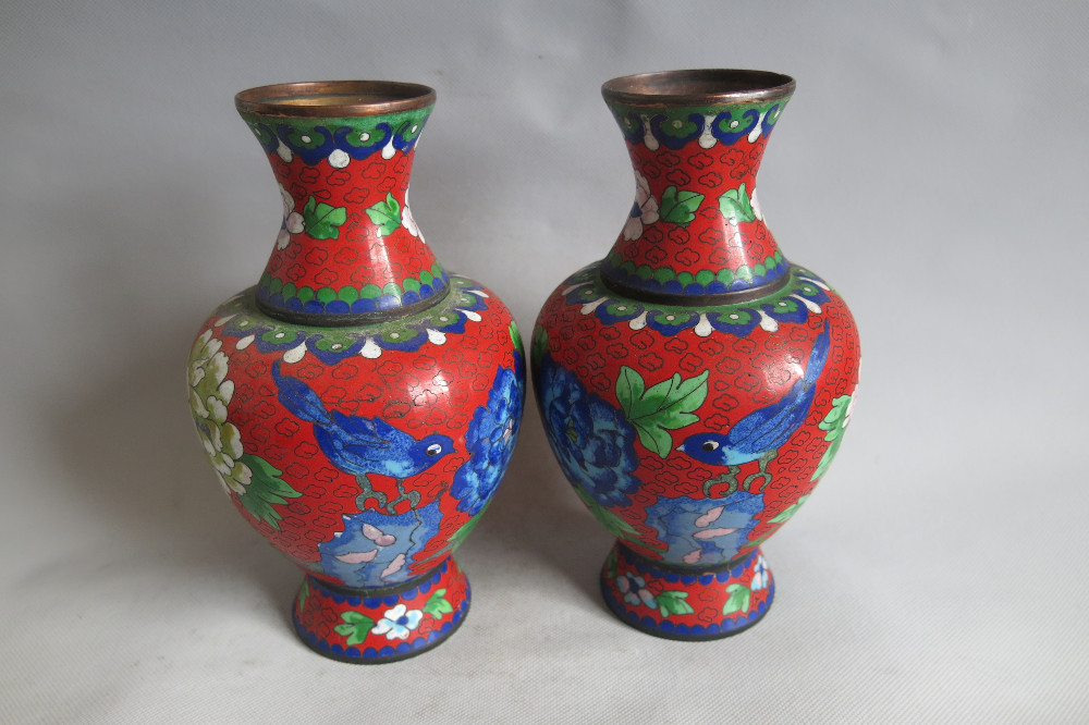 Other Asian Antiques Ancient Chinese Cloisonne Vase Rare Antiques