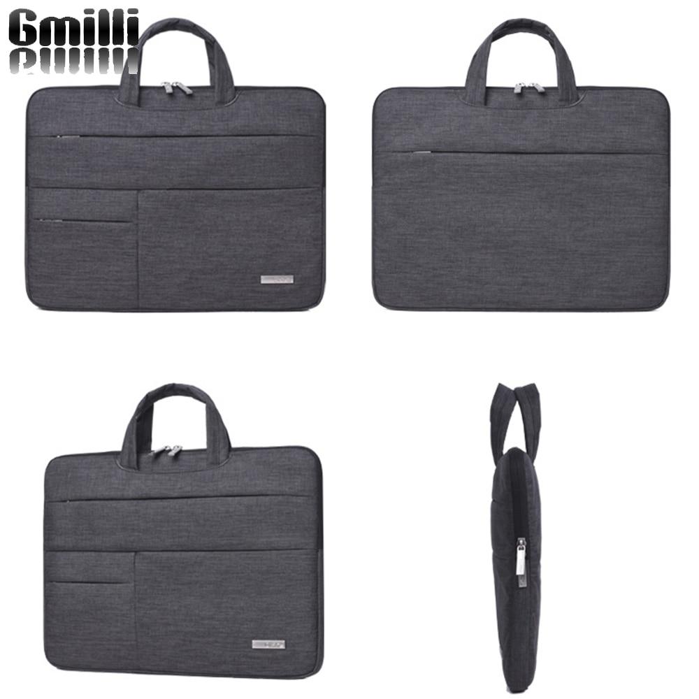 Gmilli Nylon Laptop táska Notebook Handel fedélhüvely tok - Laptop kiegészítők