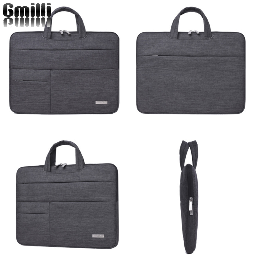Gmilli Nylon laptoptas Notebook Händel Cover Sleeve Case Draagtas - Notebook accessoires