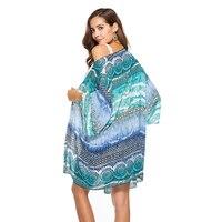 Floral Print Chiffon Kimono Cardigan Women Streetwear Casual Long Cardigan Summer Beach Boho Blouse Blusas 2018 Spring 4Colors