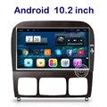 10.2 дюймов Android Dvd-плеер Автомобиля для Mercedes-Benz S класс W220 S280 S320 S350 S400 S420 S430 GPS Стерео радио