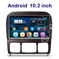 10.2 polegada Android DVD Player Do Carro para Mercedes Benz S classe W220 S280 S320 S350 S400 S420 S430 GPS Estéreo rádio