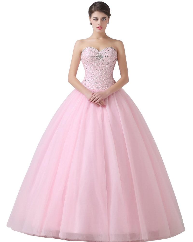 bdf2d04c6 Modelo real del arco del amor de tulle de 15 años vestido de bola baratos  vestidos de quinceañera 2017 pink sweet 16 vestidos en Vestidos de  quinceañera de ...