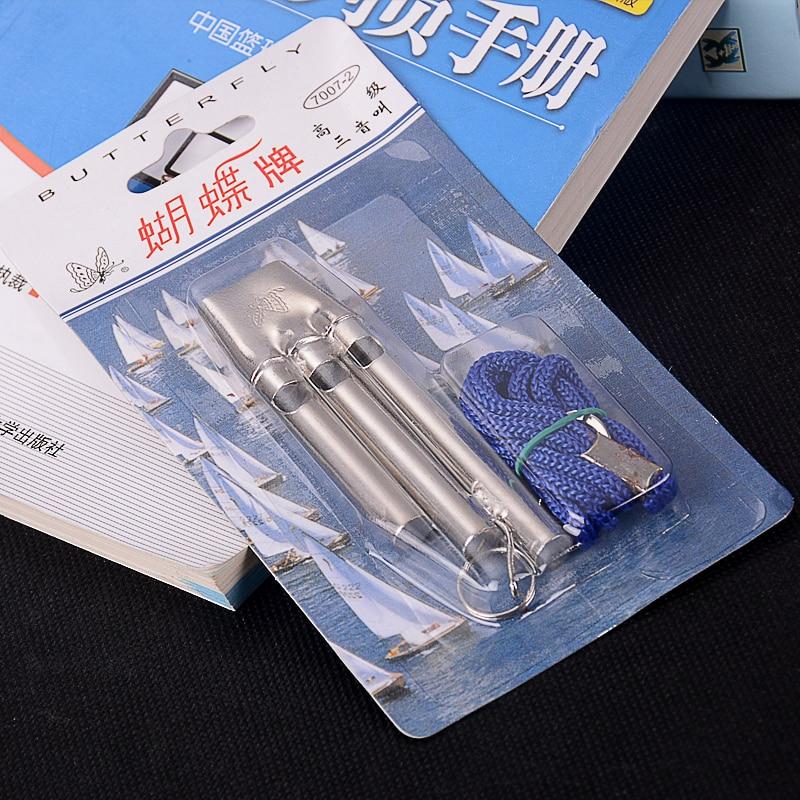 Roestvrij staal Loder Sound Seedless Professional Instrument Whistle - Team sporten - Foto 6