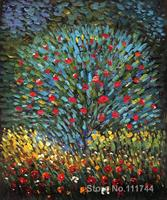 Landscape Art Apple Tree I Gustav Klimt Oil Painting Replicas High Quality Hand Painted