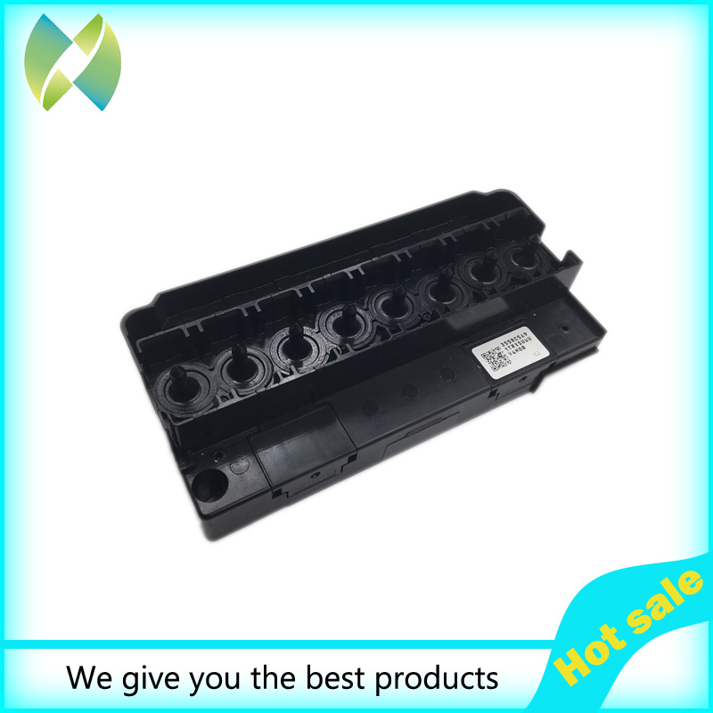Original for Epson DX5 Eco solvent Mimaki JV5 / JV33 Printhead Manifold / Adapter printer parts permanent roland xj 640 xj 740 eco solvent chips 6pcs set cmyklclm printer parts