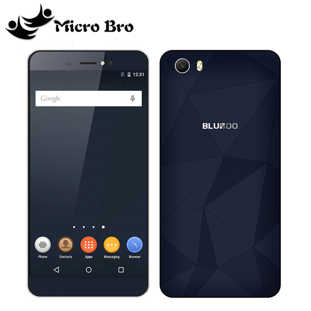 "Original Bluboo Picasso Android 5.1 Smartphone 5.0"" Android 5.1 MTK6580 Quad Core 2GB RAM 16GB ROM 8.0+8.0MP Camera WCDMA"