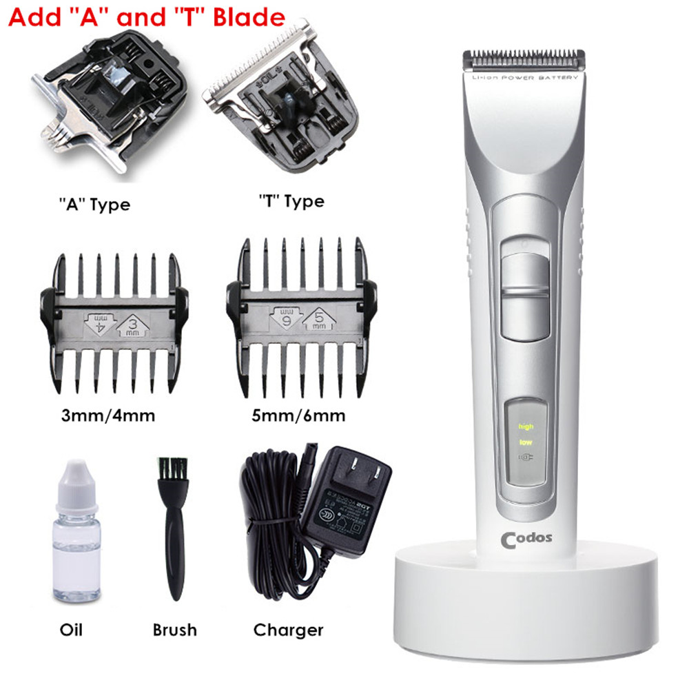 Codos Electric MINI Hair Clipper Cordless Professional Hair Trimmer for Men Salon Lettering Steel Razor Barber