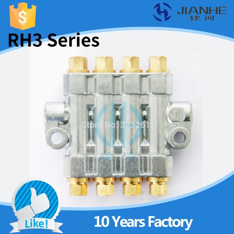 RH3 Type Detector volume distributor/lubrication distributor/separate valve for lubrication system/CNC machine