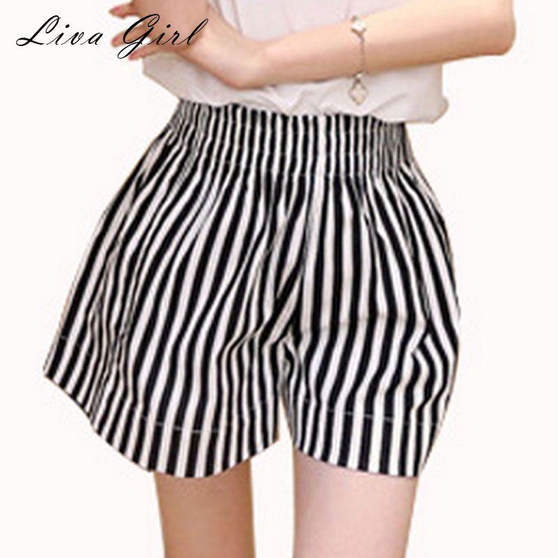 Online Get Cheap Striped Shorts Womens -Aliexpress.com   Alibaba Group