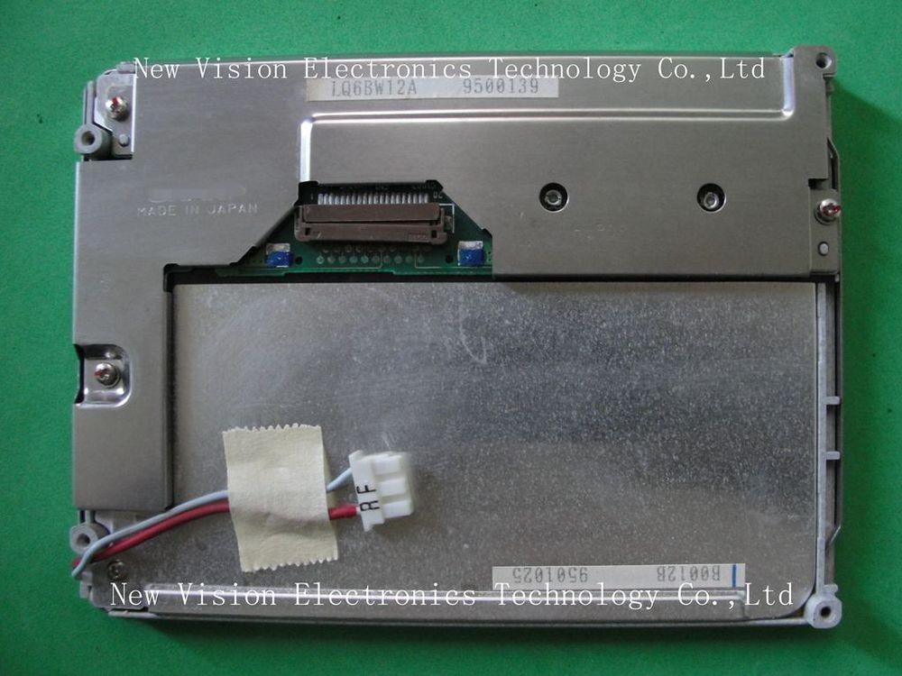 LQ6BW12 LQ6BW12A LQ6BW12K Original 6 inch LCD Screen Panel for Industrial Equipment Application for SHARP