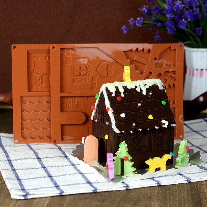 Nice ... Kosten Relativ Hoch). Sie Können Auch Die Teig Zu Machen Haus Form  Kekse, Machen Die Weihnachten Haus Modell, Dann Gießen Sie Die Schokolade  Oder Alle ...