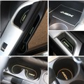 Free shipping Non- slip Interior door pad/cup mat door gate slot mat for Mitsubishi ASX 2013 2014 auto accessories
