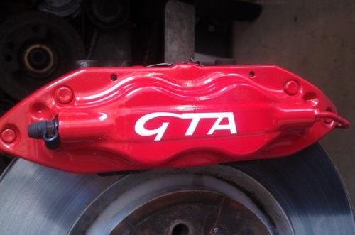 For 8pcs Alfa Romeo Brake Caliper Calliper Decals Stickers GTA 147 156 Mito Brera 159